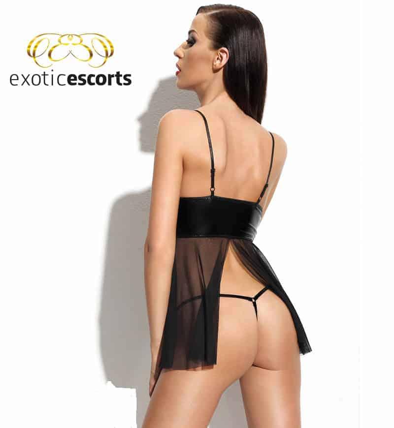 Babydoll_Chemise-Klara_schwarz_2---Exotic-Escorts
