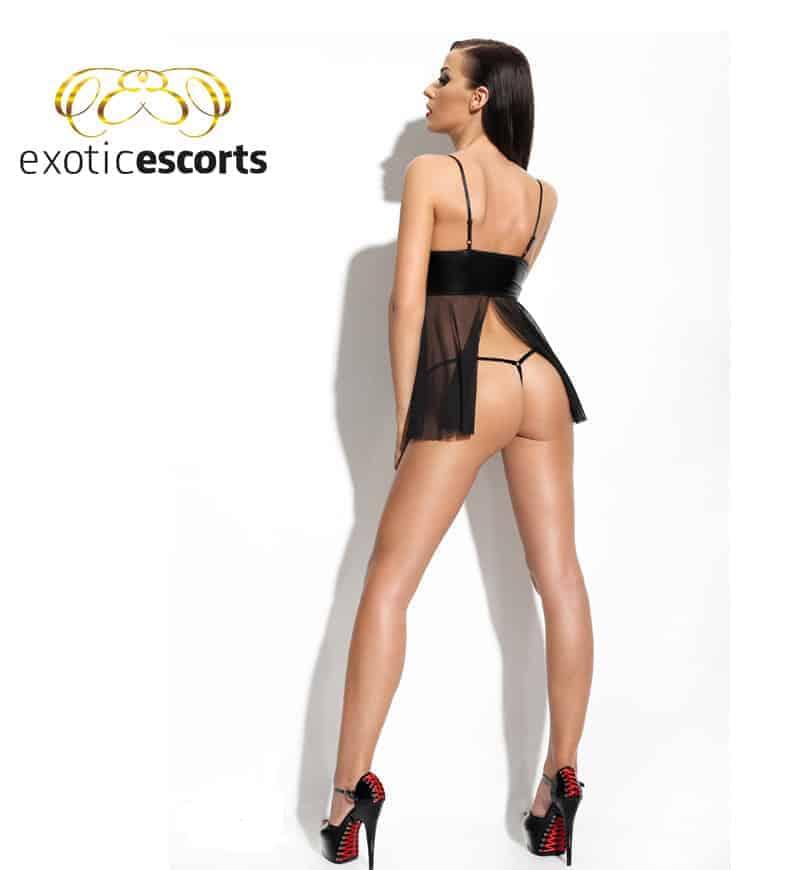 Babydoll_Chemise-Klara_schwarz_4---Exotic-Escorts