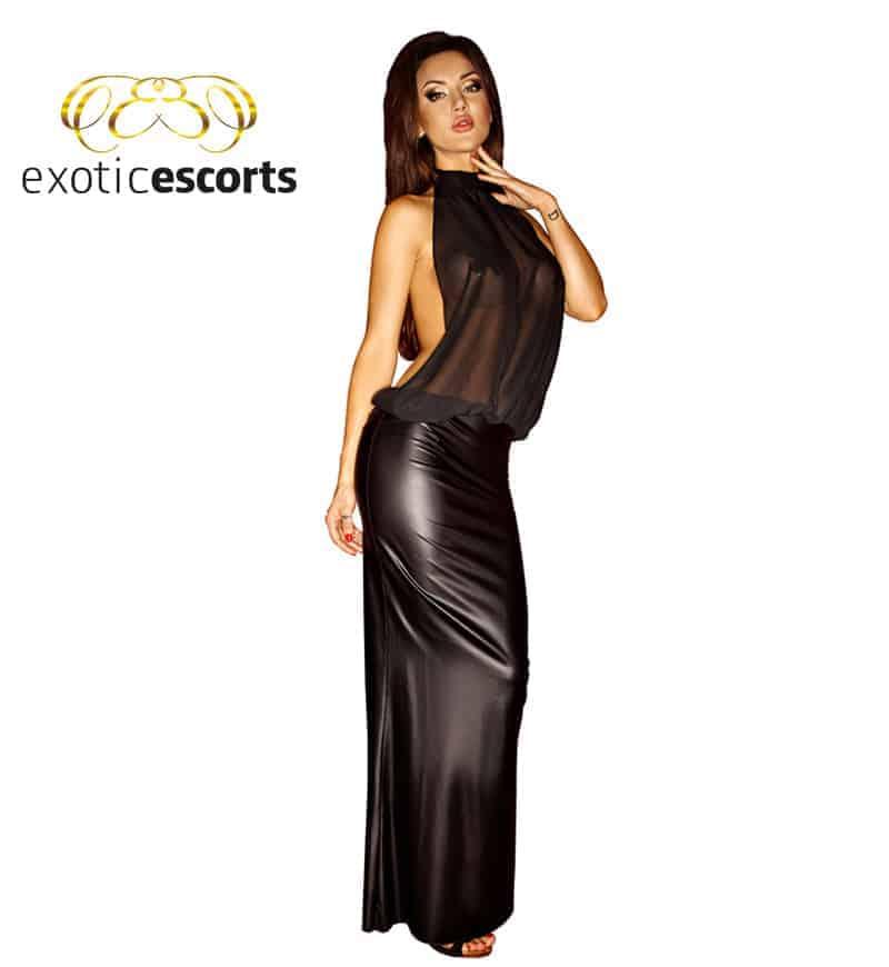 Chiffon-Kleid_lang_schwarz_1---Exotic-Escorts