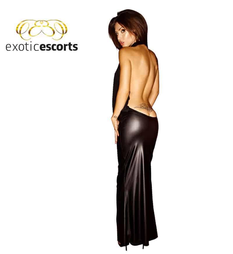 Chiffon-Kleid_lang_schwarz_2---Exotic-Escorts