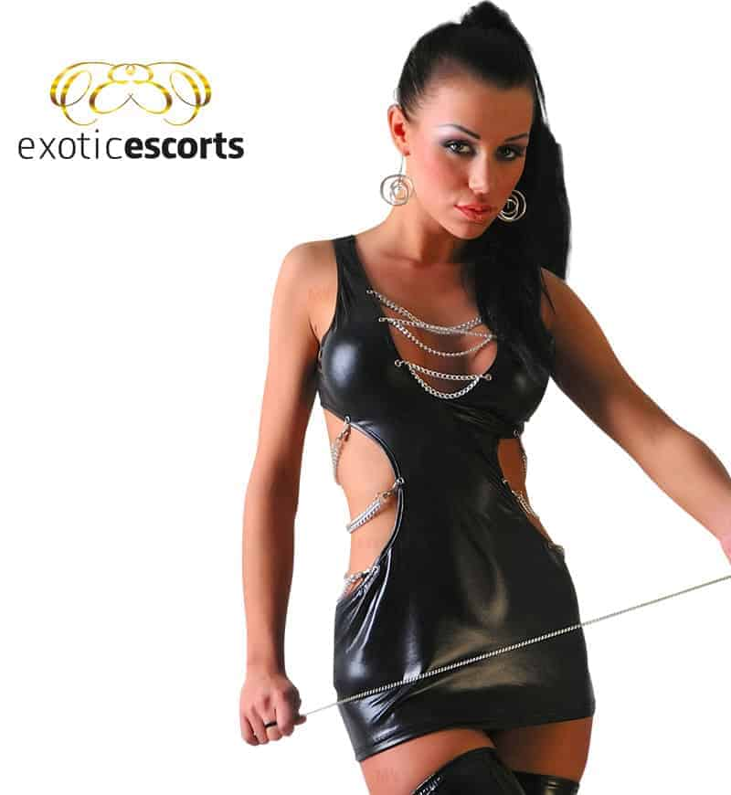 Wetlook-Kleid_mit-String_schwarz_1---Exotic-Escorts
